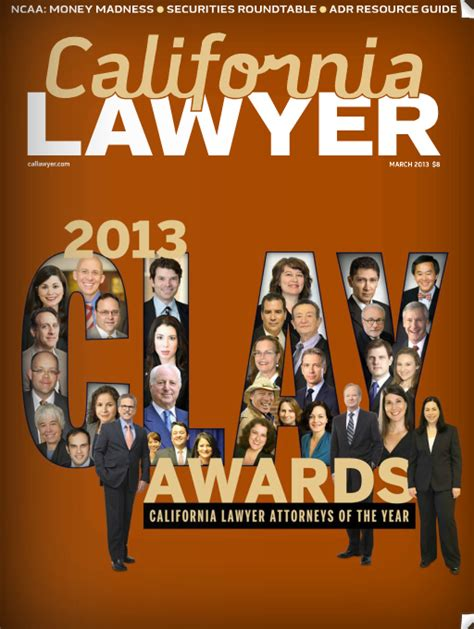 California Lawyer Magazine Archives
