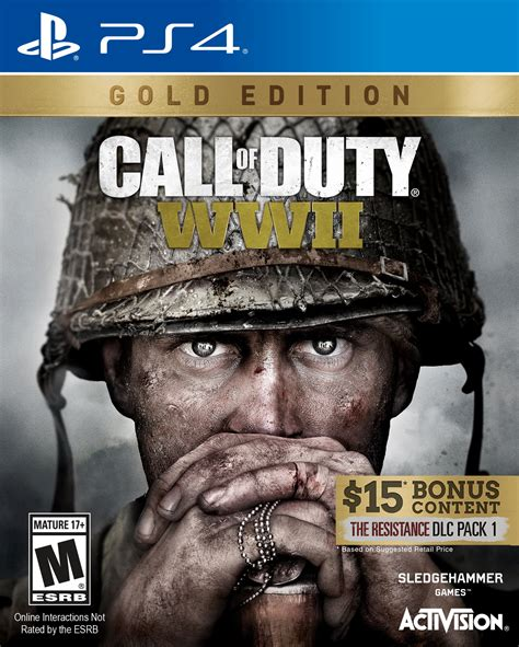 @ Call Of Duty Wwii Gold Edition Activision Playstation 4 .