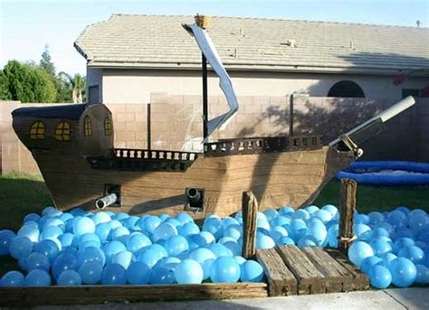 Cardboard Pirate Ship Instructions