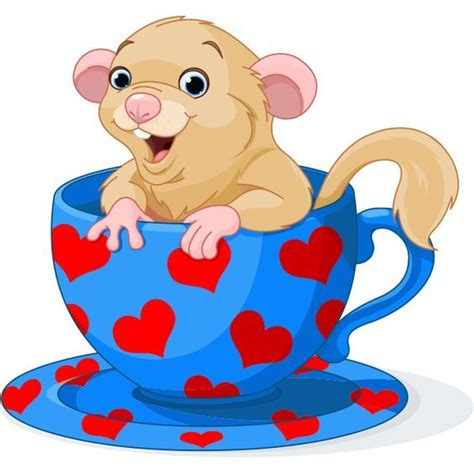 Cartoon Dormouse