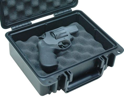 Case Club Waterproof Universal Single Pistol Case To Fit .