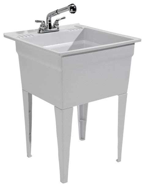 Cashel Heavy Duty Sink - Fully Loaded Sink Kit - Granite .