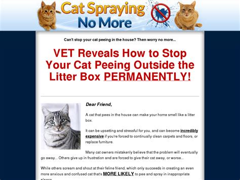 [pdf] Cat Spraying No More - Brand New With A 16 2 Conversion Rate .