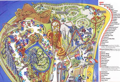 Cedar Point Sandusky Ohio Map