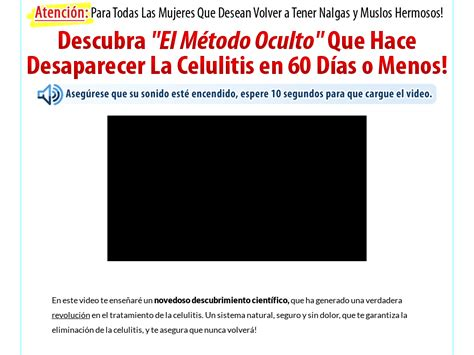 [click]celulitis Nunca Mas Grandes Ventas - Video Dailymotion.