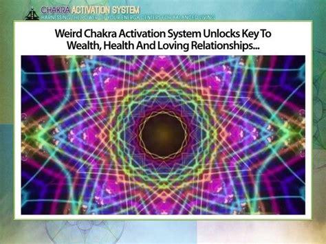 [click]chakra Activation System By Stephanie  Alvin - Feb 2016 .