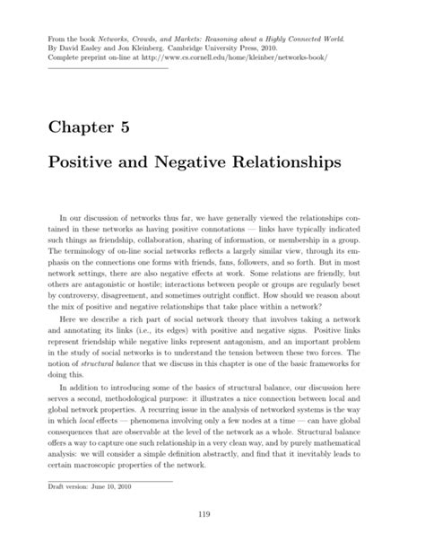 [pdf] Chapter 5 Positive And Negative Relationships.