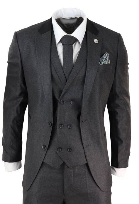 Charcoal Suits for Men