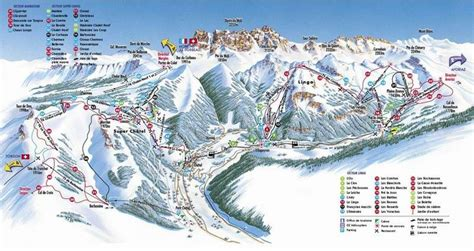 [click]chatel Ski Resort Guide Location Map  Chatel Ski Holiday