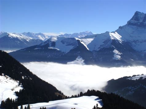 [click]chatel Snow Forecast For 1701 M.