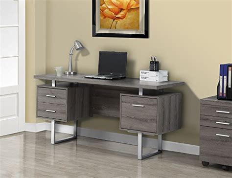 Check Price Monarch Reclaimed Look Silver Metal Office .