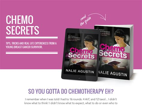 @ Chemo Secrets - Tips Tricks From A Young Breast Cancer Survivor.