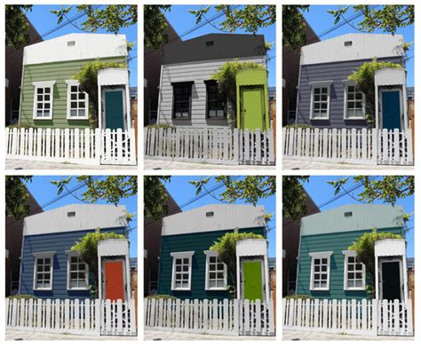 Choosing Color 1 Cottage 6 Striking New Color Schemes.