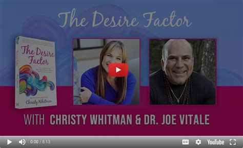 [pdf] Christy Whitman  S Interview With Dr Joe Vitale.