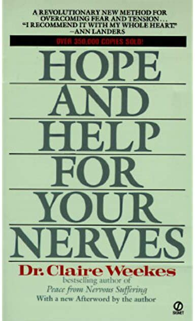 Claire Weekes Self Help For Your Nerves - Clickbanksolutions.