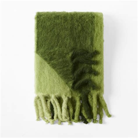 Classic Check Mohair Throw - Perfect Blanket For Relaxing .