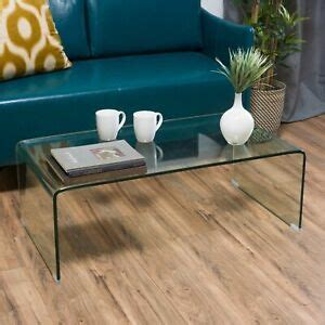 Classon Glass Rectangle Coffee Table 637162993385  Ebay
