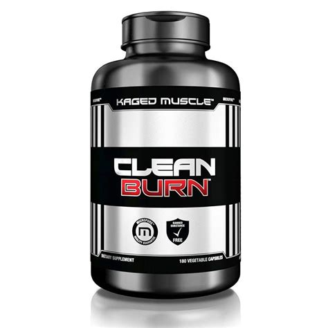 Clean Burn (180 Veggie Caps) By Kaged Muscle At The Vitamin.