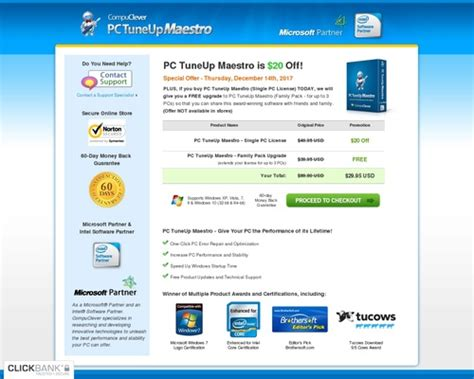 [pdf] Clean My Pc - Purchase Pc Tuneup Maestro  Compuclever Opinion.