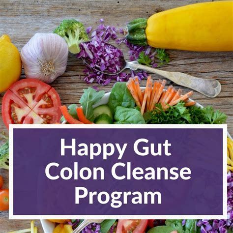 [click]cleanse Program - Happy Gut.