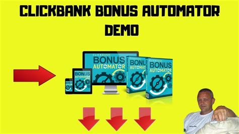 Clickbank Bonus Automator Demo - Now You Can Deliver Your.