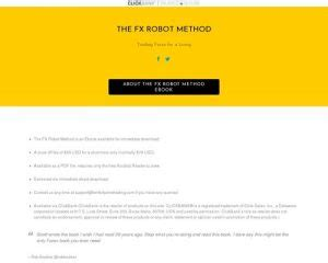 [pdf] Clickbank Offer - The Fx Robot Method - How To Be A Forex .