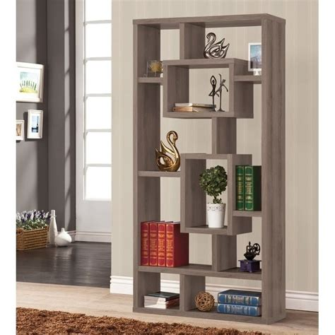 Coaster Gray Bookcase Bookcases For Sale  Ebay.