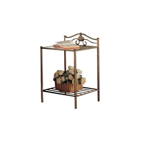 Coaster Sydney 300172 Transitional Iron Nightstand With .