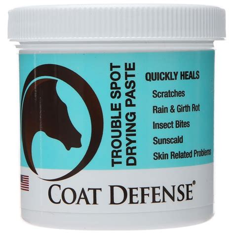 Coat Defense Trouble Spot Fungal Bacterial Drying Paste - Riding.