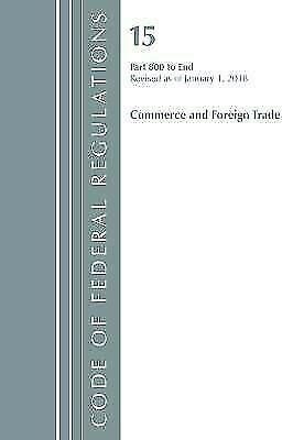 [pdf] Code Of Federal Regulations Title 15 Commerce And Foreign .