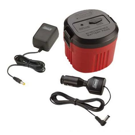 Coleman Rechargeable Cpx 6v Battery Pack - Walmart Com.