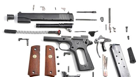 Colt 1911 Government 45 Acp Complete Disassembly .