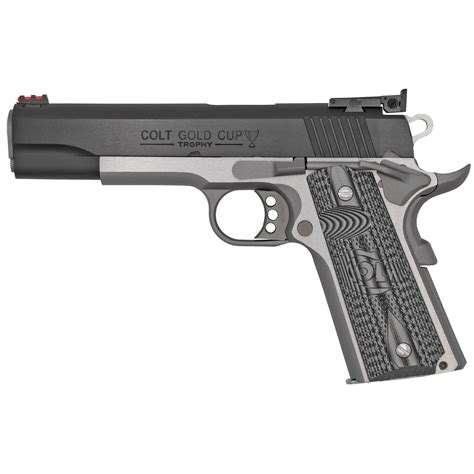 Colt Gold Cup Lite Pistol 38 Super 5in 9rd Two Tone.