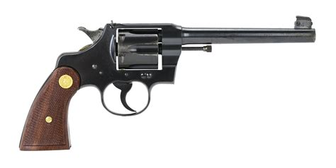 Colt Revolvers - Officers Model For Sale.