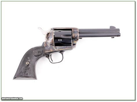 Colt Saa 4 75in Blued Case Colored 357 Nib For Sale.