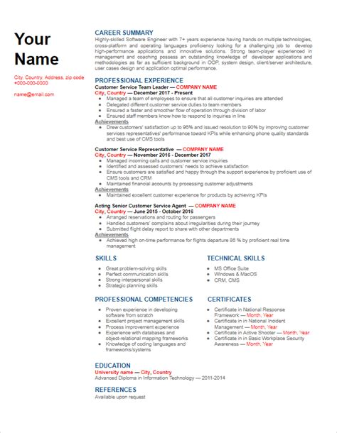 combination functional and chronological resumes - Examples Of Chronological Resumes