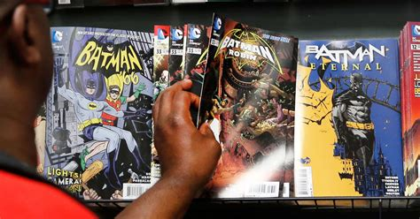 [click]comic Books Buck Trend As Print And Digital Sales  - Cnbc.