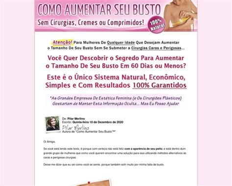 @ Como Aumentar Seu Busto - Portuguese Version Review.