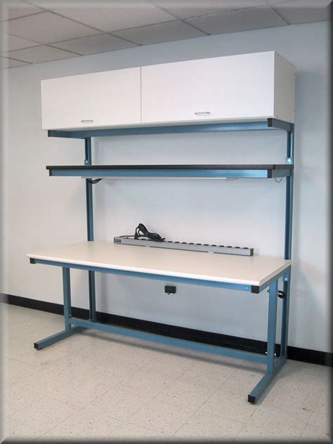 Computer Workbench With Shelving