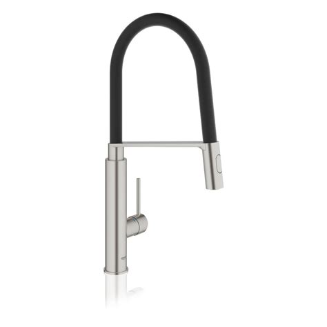 Concetto Single-Handle Pull-Down Sprayer Kitchen Faucet .