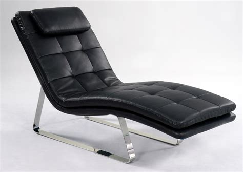 Contemporary Leather Chaise Lounge  Atcsagacity Com.
