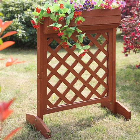 Convenience Concepts Planters And Potts Fir Wood Planter .