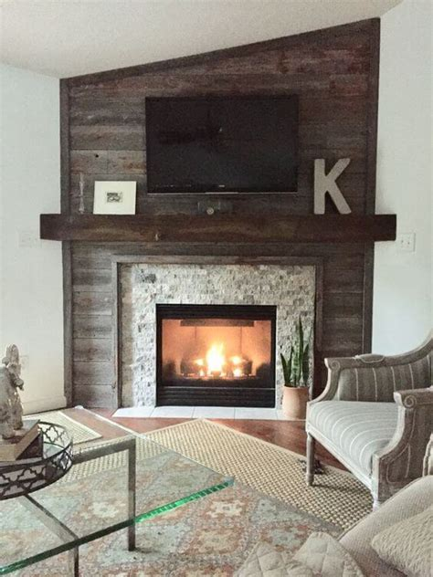 Corner Fireplace Mantel Designs