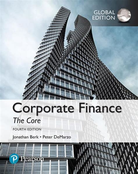 [pdf] Corporate Finance The Core Third Edition Answers Pdf.