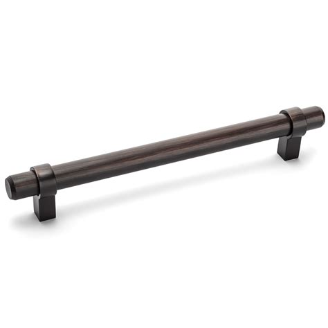 Cosmas Oil Rubbed Bronze Euro Style Bar Pulls  Knobs.