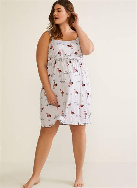 Cotton Nightgown Empire Waist