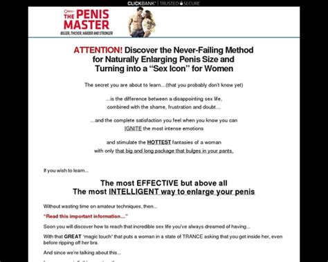 [click]coupon The Penis Master  90 Commission  Switch  Make .