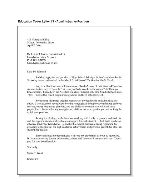 Job Cover Letter Academic