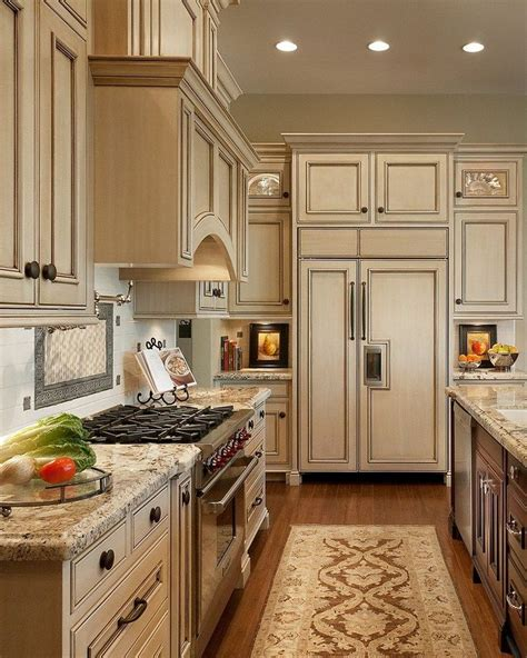 Cream Kitchens Pinterest