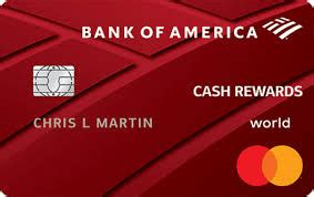 Credit Card Fees Bank Of America